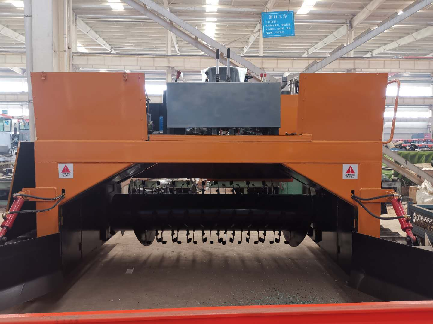 Windrow Turner Crawler Type for Composting